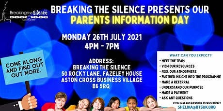 Parents Information Day tickets