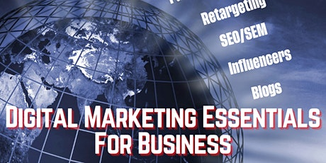Digital Marketing Essentials For Business [by Central West BSC] tickets