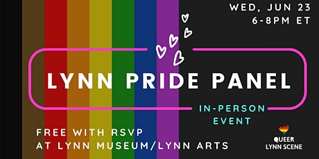 Lynn Pride Panel & Mixer tickets