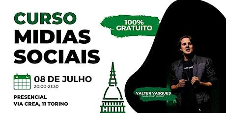 Curso de Redes Sociais em Torino biglietti