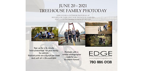Treehouse Family Photoday Event - June 20, 2021 tickets