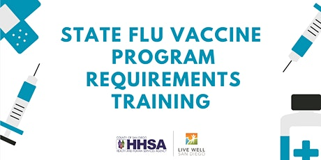 State Flu Training: Community Clinics, Organizations & Colleges-ONLY tickets