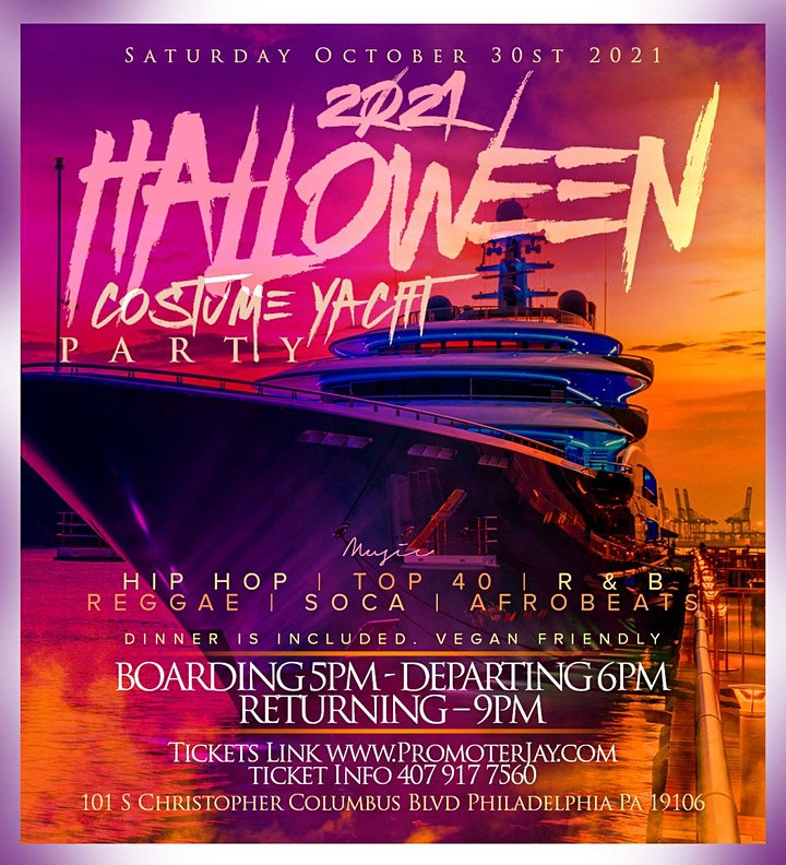 2021 Halloween Costume Yacht Party image