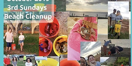 3rd Sunday's Beach Clean Up tickets