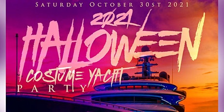 2021 Halloween Costume Yacht Party tickets