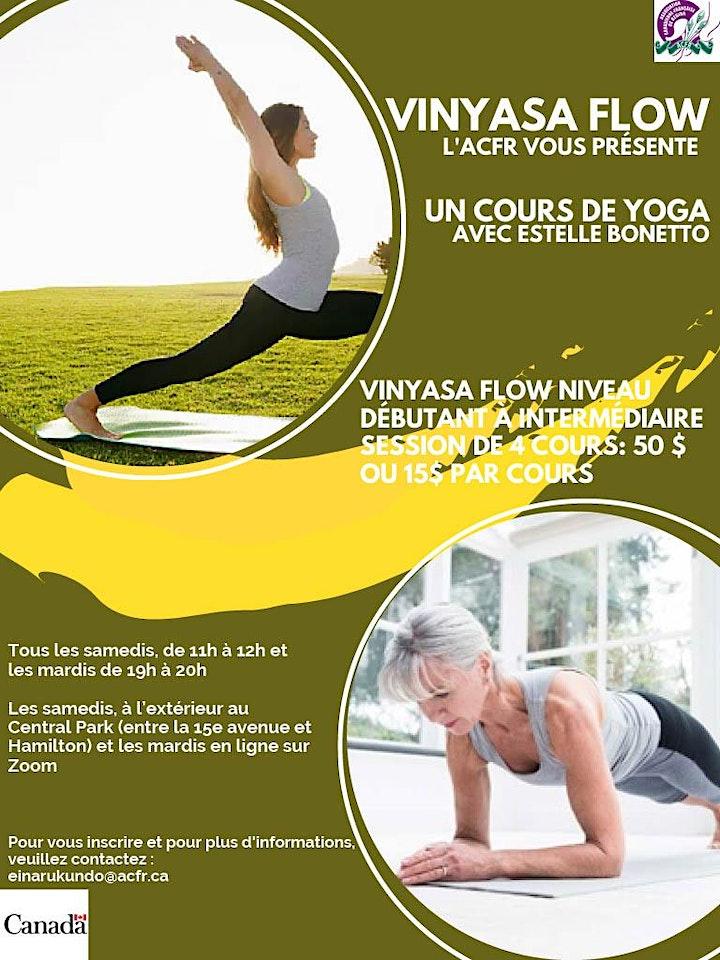 Image de Les cours de Yoga