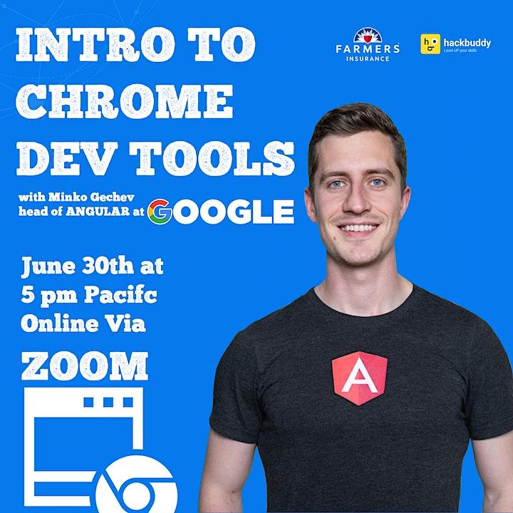 Intro to Chrome DevTools w/ Minko Gechev - Head of Angular at Google image