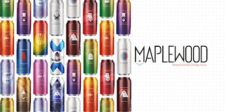 Maplewood Brewing & Distillery Craft Beer Tasting tickets