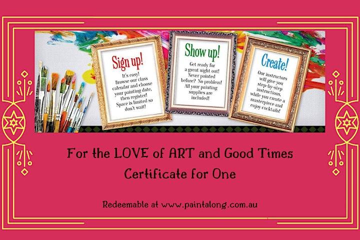 Paint Along Gift Vouchers image