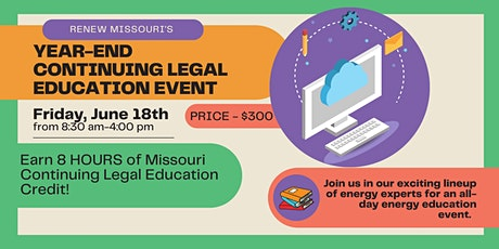 Renew Missouri's Year-End Continuing Legal Education Event tickets