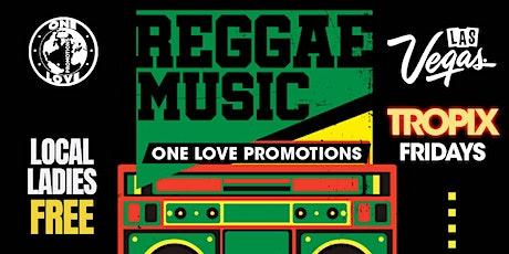 Tropix Fridays Reggae and Afrobeat lounge tickets