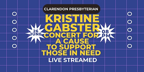Concert for a Cause with Kristine Gabster tickets