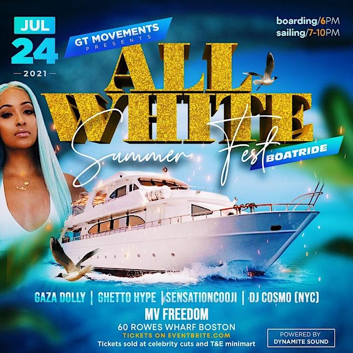 Summerfest All White Boat Ride image