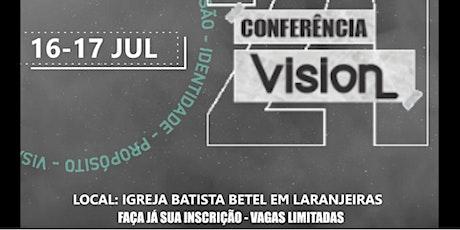 Conferência VISION ingressos