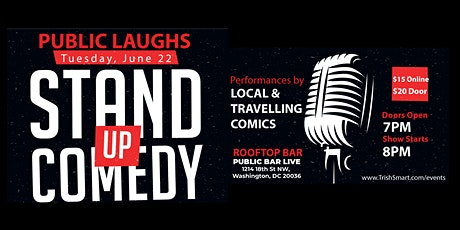 Public Laughs Stand Up Comedy Show tickets