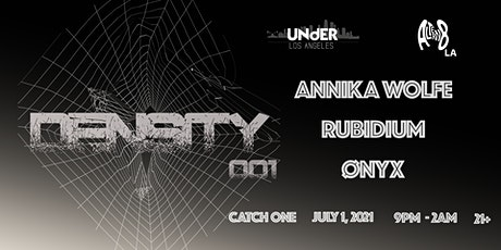 Under Los Angeles & Altern8 LA Present: Density 001 tickets
