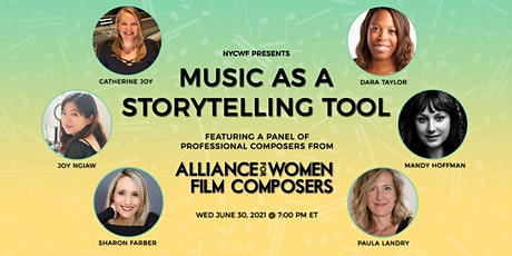 Music as a Storytelling Tool:  Alliance for Women Film Composers Panel Tickets