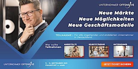 Unternehmeroffensive 4.0 - Frankfurt am Main Tickets
