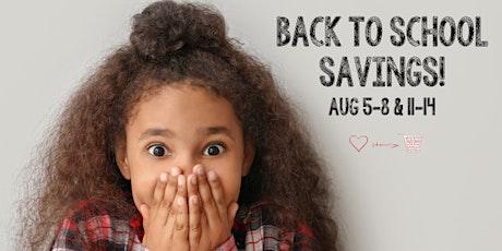 Huge JBF Kids' Back To School  Sale  Fall 2021 tickets