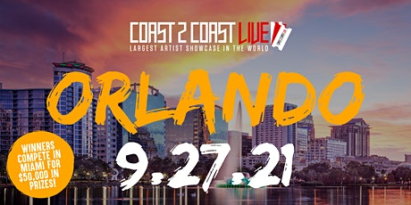 Coast 2 Coast LIVE Showcase Orlando - Artists Win $50K In Prizes tickets
