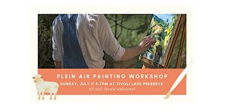 Plein Air painting at Tivoli Community Farm tickets