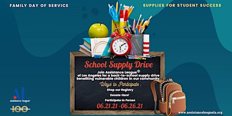 Family Day of Service: Supplies for Student Success tickets