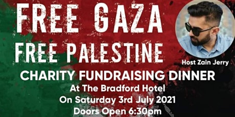 'FREE PALESTINE' CHARITY DINNER tickets