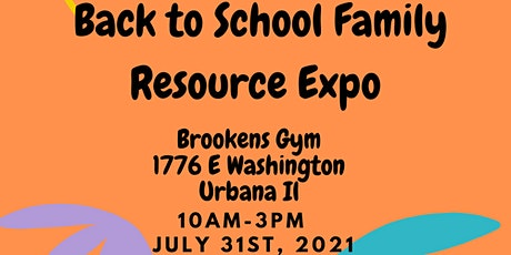 1st Annual C-U Back to School Family Resource Expo and Giveaway tickets