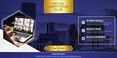 (VHHC) Virtual Happy Hour Club Houston tickets