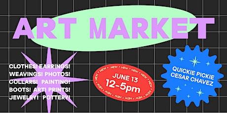 Quickie Pickie Art Market tickets