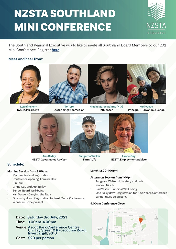 NZSTA Southland Mini Conference image