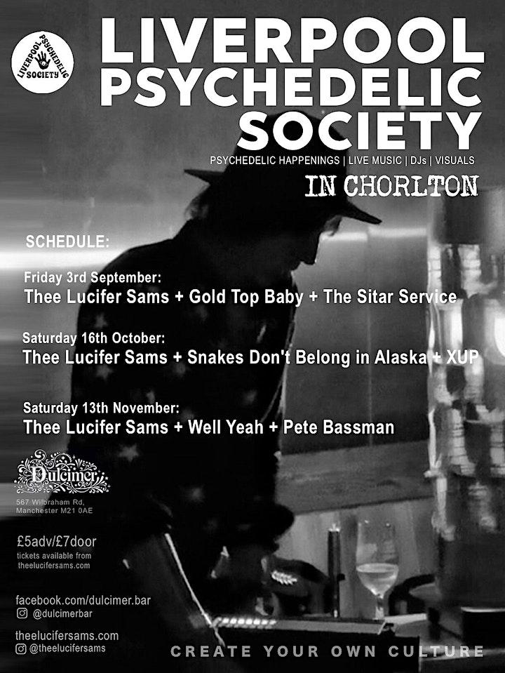 Liverpool Psychedelic Society: Thee Lucifer Sams, SnakesDon'tBelongInAlaska image