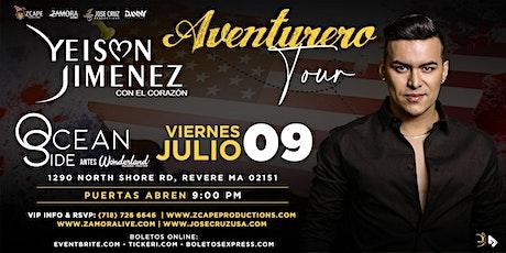 """YEISON JIMÉNEZ """"AVENTURERO TOUR"""" BOSTON tickets"""