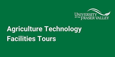 Agriculture Technology Facilities Tours tickets