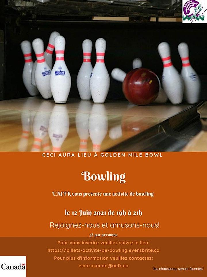 Image de Activité de Bowling