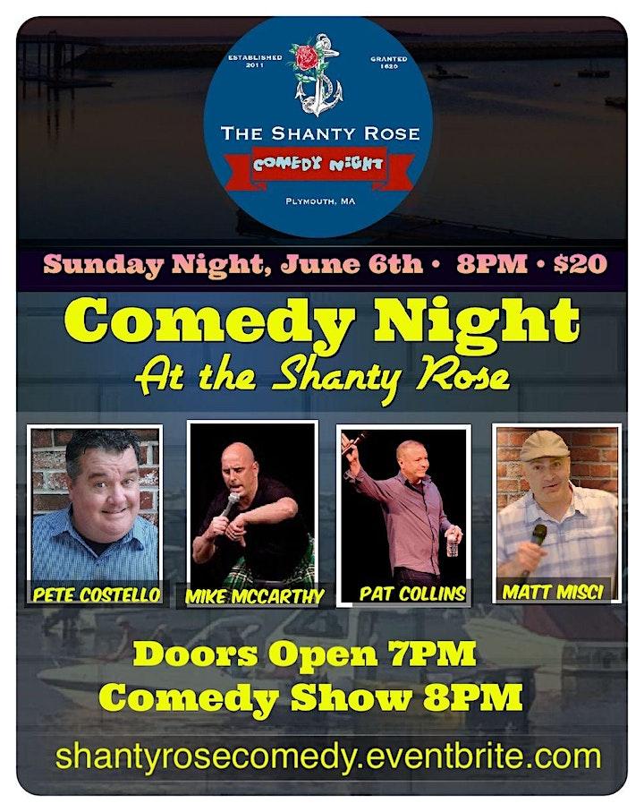 Shanty Rose Comedy Night image
