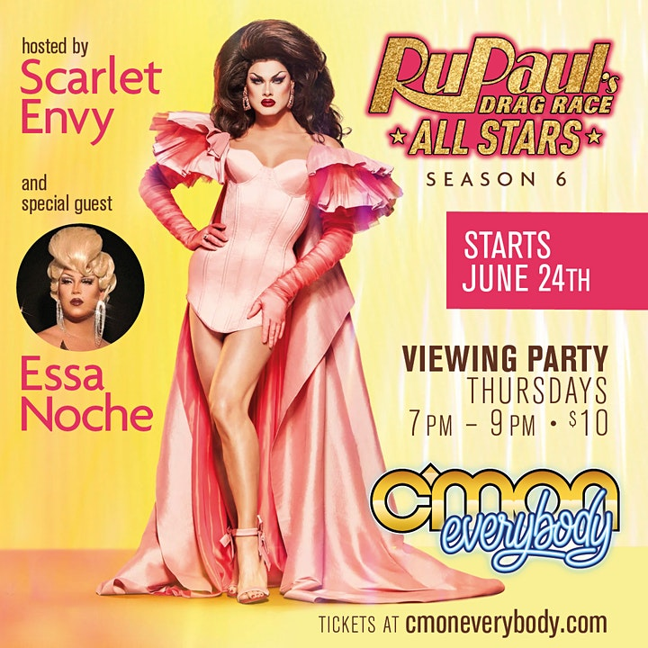 RuPaul's Drag Race All Stars Viewing Party with Scarlet Envy image