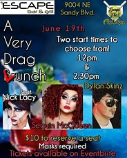 A  Very Drag Lunch tickets
