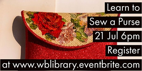 Zoom Craft-Along: Sew a Bag tickets