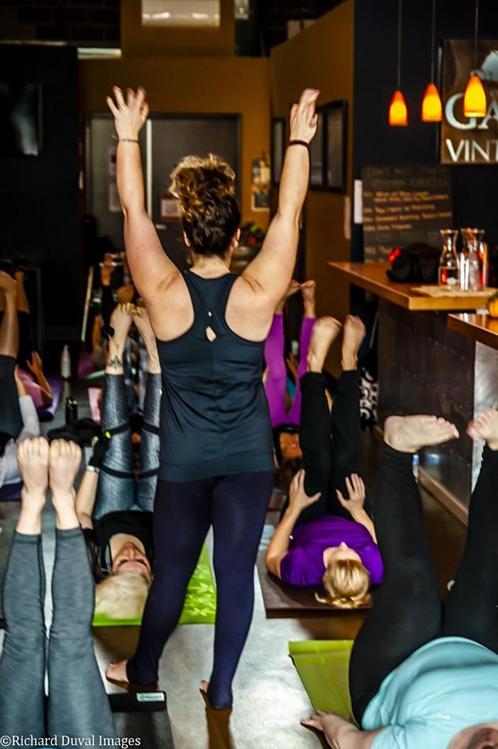Yoga + Wine at Ancestry Cellars, Manson WA image