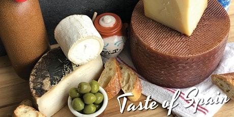 A Taste of Spain - Spanish Cheese Tasting Class tickets