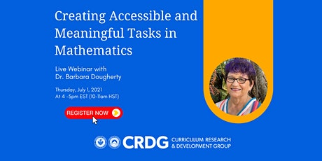 Creating Accessible and Meaningful Tasks in Mathematics tickets