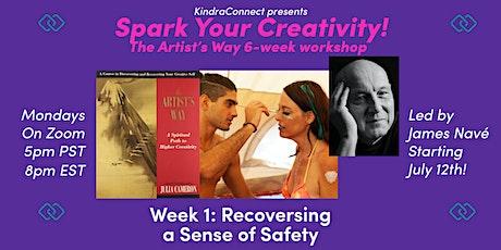 Spark Your Creativity: The Artist's Way 6-Week Workshop tickets