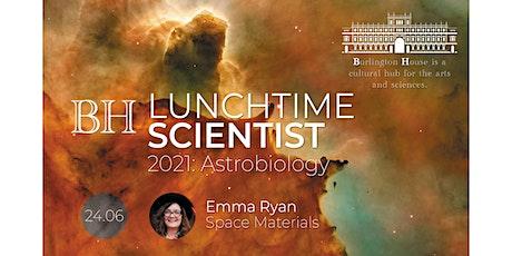 BHLS: Astrobiology 2021 - Dr Emma Ryan tickets