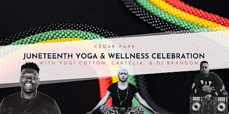 Trap & R/B Yoga - Juneteenth Yoga & Wellness Celebration tickets