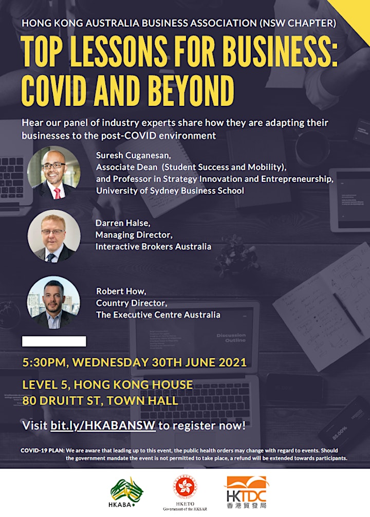 HKABA NSW Top Lessons for Business: COVID And Beyond image