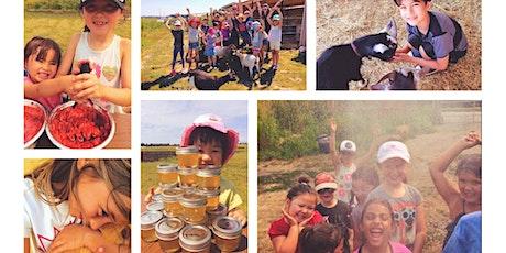 Blue Moon Acres Farm Camp Wk 3, Bee Week, Pig Week, Animal Mania, & More! tickets