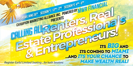 It's BIG & It's Coming to MIAMI  - the Miami Florida MWR Launch! tickets