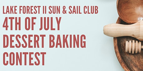 4th of July Baking Competition tickets