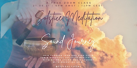 Gaia's Gifts Solstice Meditation and Sound Journey 21/6/21 tickets